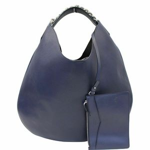 GIVENCHY Infinity Leather Medium Hobo Bag Blue